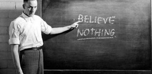 I WANT to be a believer, not just a make believer