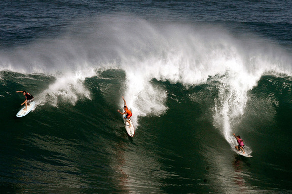 I want to ride a wave
