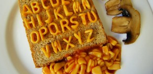 I WANT to write a book using alphabetti spaghetti